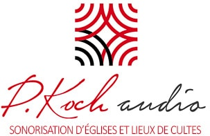 P Koch Audio Retina Logo