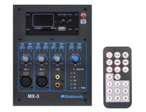 MX-3SD-BL : NOUVEAUTÉ